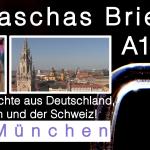 deutsch-brief-mail-reisebericht-münchen