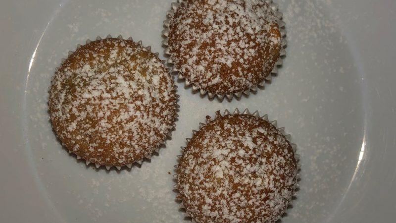 Deutsche Vegetarische Rezepte: Vegane Apfel Mini Muffins